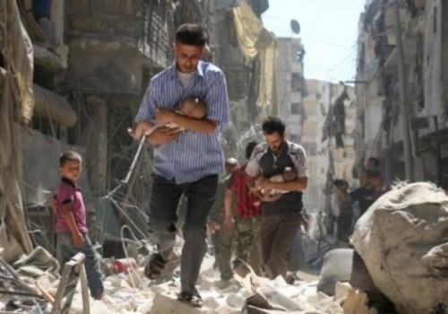 La guerra en Siria es contra los civiles