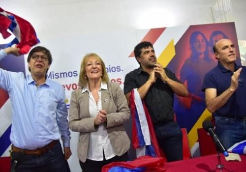 Frente Amplio proclamó a cuatro precandidatos presidenciales