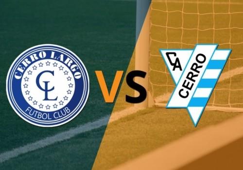Cerro empató con Cerro Largo jugando con 10