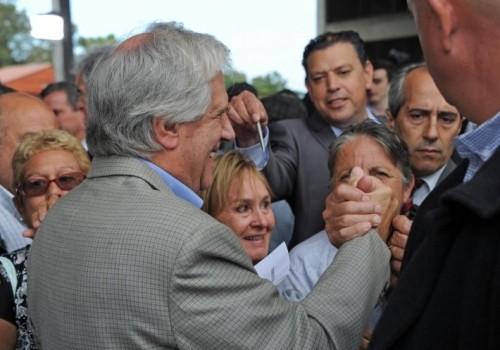 Presidente Vázquez se reúne con vecinos de San Luis