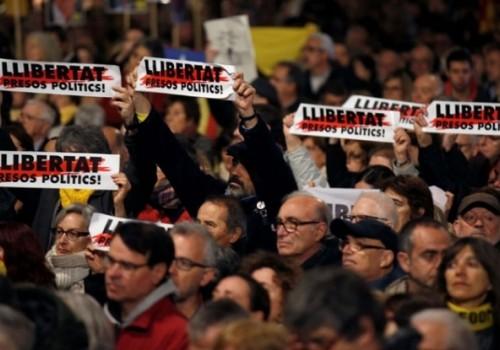 Comenzó el juicio a los líderes catalanes en Madrid