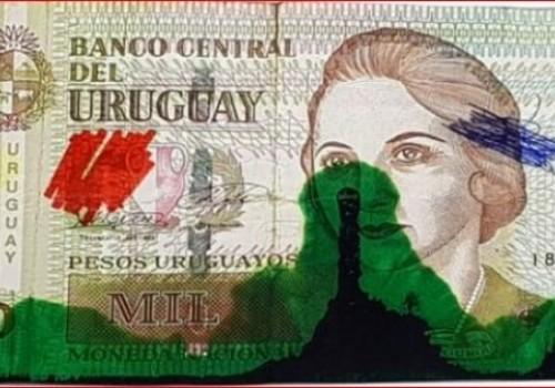 Aprueban entintado de billetes con color verde oscuro