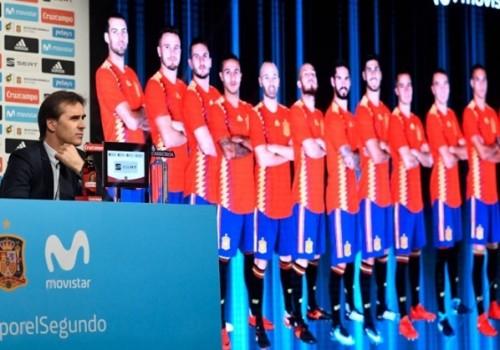 Los 23 jugadores de la selección de España