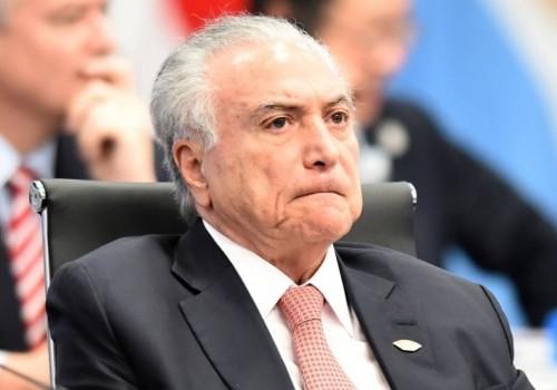 Detienen al ex presidente Michel Temer