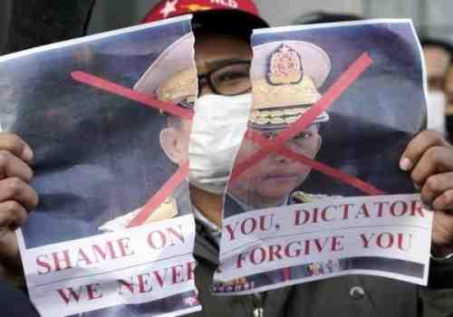 Represión de protestas causa 18 muertos
