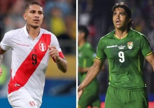 Perú y Bolivia se miden en Maracaná a las 18:30