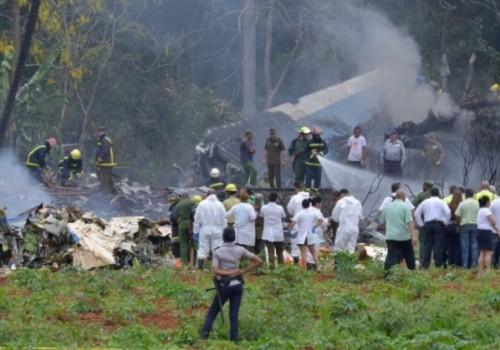 Avión cubano se estrelló con 104 pasajeros en La Habana