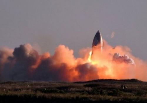 La nave Starship de Space X explotó al aterrizar