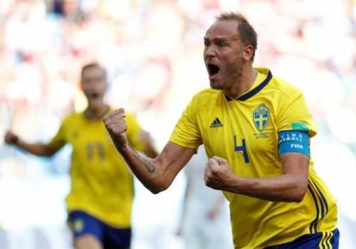 Suecia ganó de penal ante Corea del Sur: 1-0