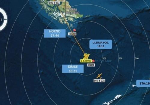 Avión de la Fuerza Aérea está desaparecido