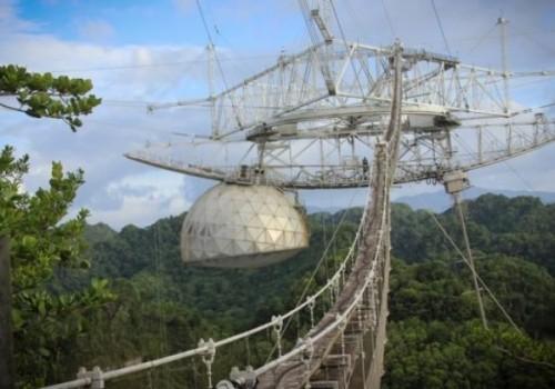 Adiós al histórico radiotelescopio de Arecibo