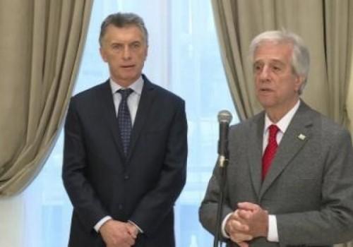 Reunión de presidentes de Argentina y Uruguay este miércoles
