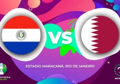 Paraguay y Catar juegan a las 16 horas