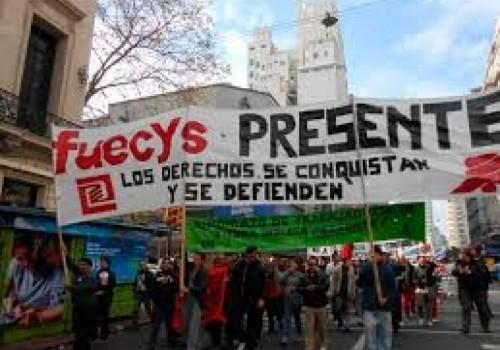 Movilización de Fuecys y paro de 24 horas en todo…