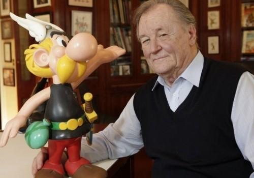 Adiós a Albert Uderzo, el dibujante de Astérix