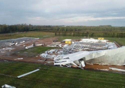 Granizo causó daños en 300 hectáreas de plantaciones