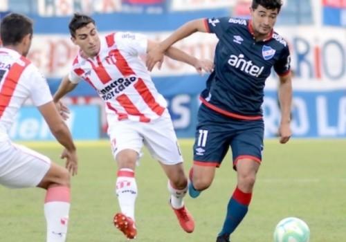 Nacional no pudo con un River Plate de 10 jugadores:…