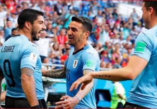 Uruguay ganó con lo justo y clasificó a octavos: 1-0 ante Arabia Saudita
