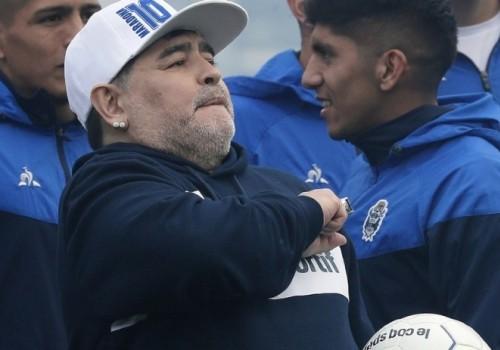 Diego Armando Maradona entró en la leyenda