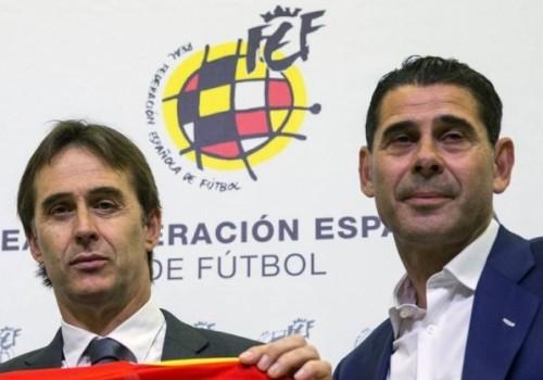 España destituye a Lopetegui y nombra a Fernando Hierro