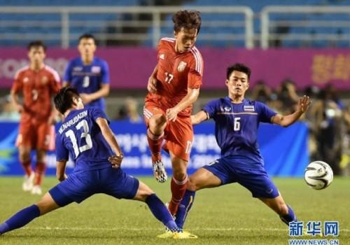 Sorpresiva victoria de Tailandia por 1 a 0