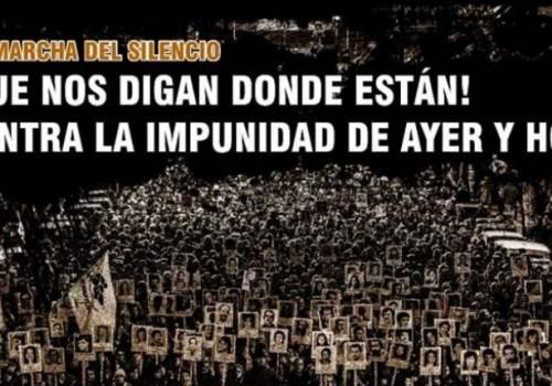 Este lunes se realiza la 24ª Marcha del Silencio