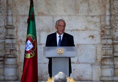 Marcelo Rebelo de Sousa fue reelegido presidente