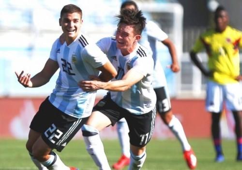 Triunfo de Argentina ante Colombia por 1 a 0