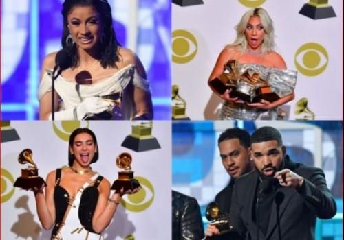 Ganadores y nominados de los Premios Grammy 2019