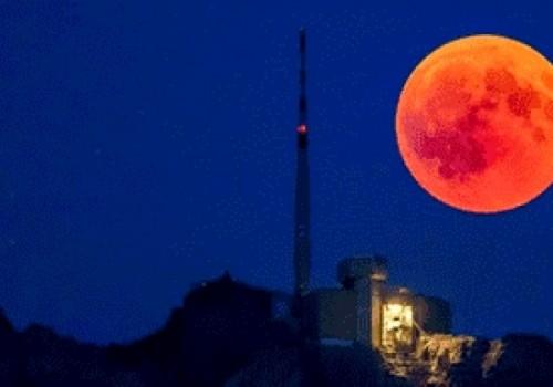 Eclipse total de luna en la noche del 20 de…