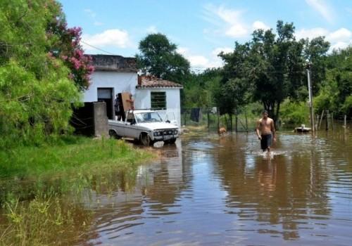 Inundaciones: hay 5400 personas desplazadas