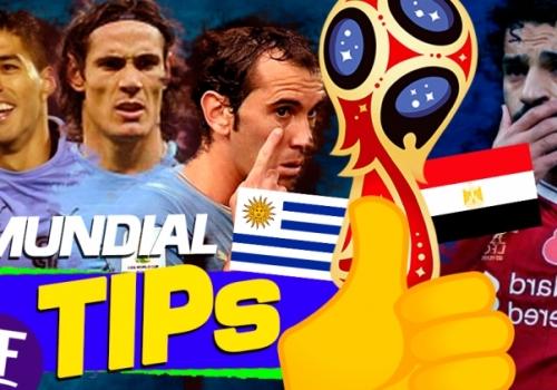 MUNDIAL TIPS - Uruguay vs Egipto