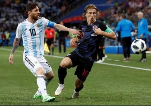 Croacia goleó a Argentina por 3 a 0 y está en octavos