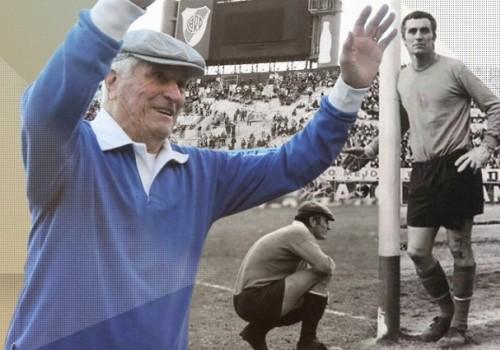 Murió Amadeo Carrizo, emblemático arquero de River Plate