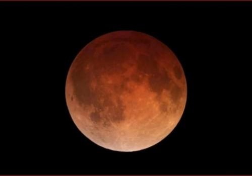 El eclipse de superluna azul de sangre