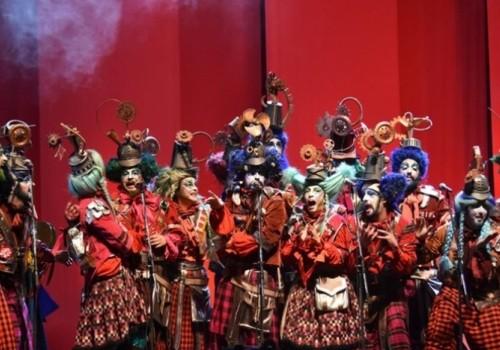 Calendario del concurso oficial de Carnaval en el Teatro de…