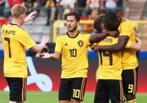 Bélgica fue contundente y goleó a Panamá 3-0
