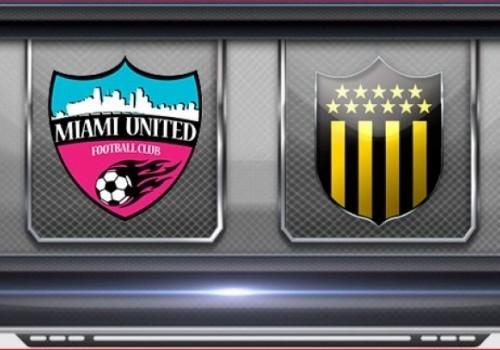 Empate entre Peñarol y Miami United: 2-2