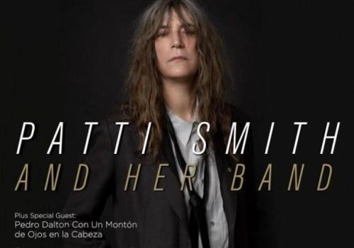 La poeta y cantante Patti Smith será Visitante Ilustre