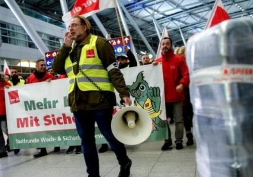 Cientos de vuelos cancelados por huelga en aeropuertos