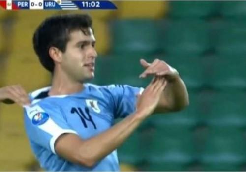 Uruguay derrotó a Perú por la mínima diferencia