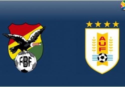 Uruguay-Bolivia, este sábado a las 20:00 horas