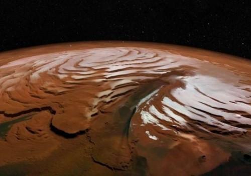 Hay un lago subterráneo de agua salada en Marte