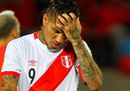 El goleador incaico Paolo Guerrero se queda sin Mundial