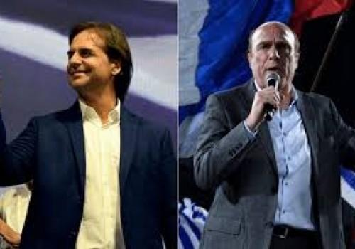 Balotaje: Luis Lacalle Pou 47%; Daniel Martínez 42%