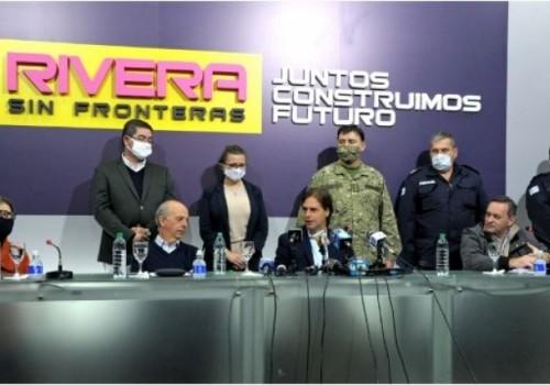 Anuncian medidas especiales para contener el COVID-19 en Rivera
