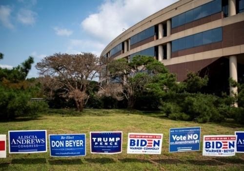 Comenzó el voto anticipado en el estado de Virginia