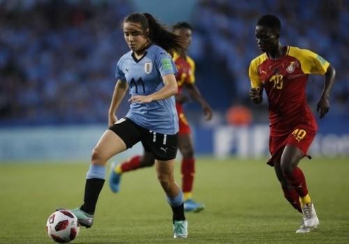 Uruguay cayó ante Ghana 5-0