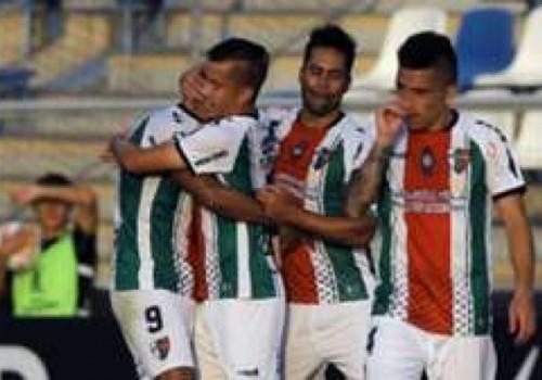 Palestino goleó 5-1 y eliminó a Cerro Largo