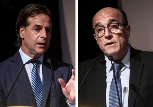 Intención de voto: Luis Lacalle Pou 47%, Daniel Martínez 42%